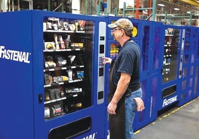 vending machine for tools