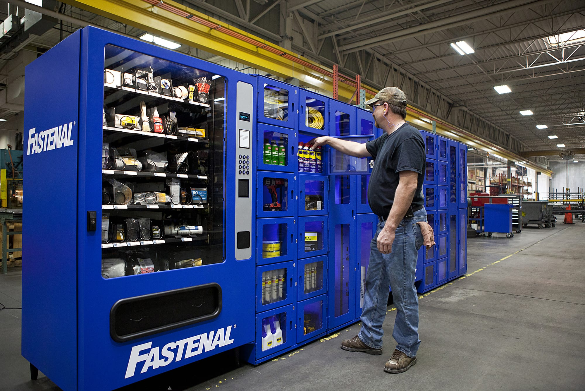 Candy Not Included: The Industrial Tool Vending Machine for Technicians