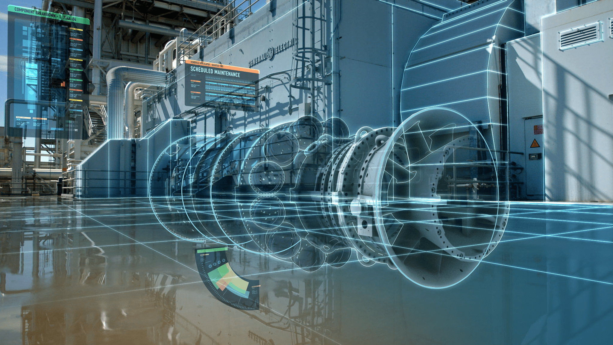 Digital Power Chain : At ge digital twins are transforming industrial manufacturing