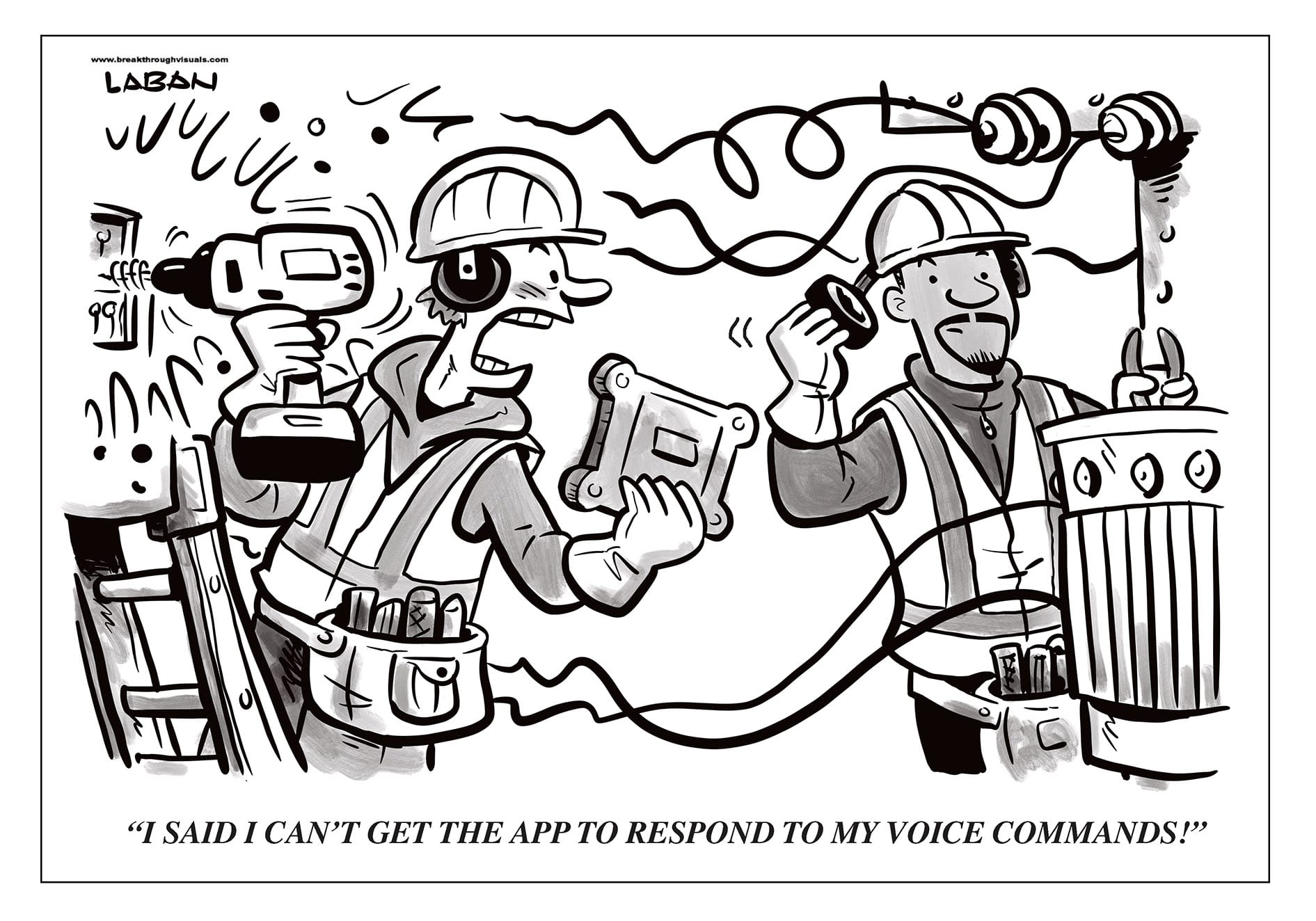 Comic Brake: Voice Commands