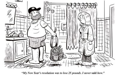 Comic Brake: New Year's Resolutions