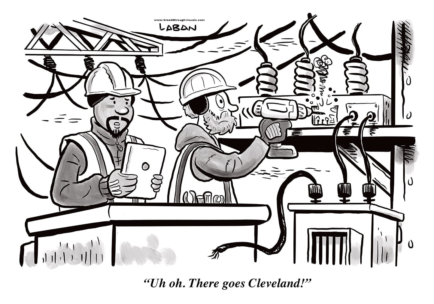 Comic Brake: Cleveland