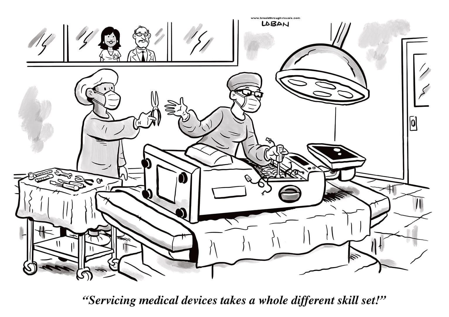Comic Brake: Medical Devices