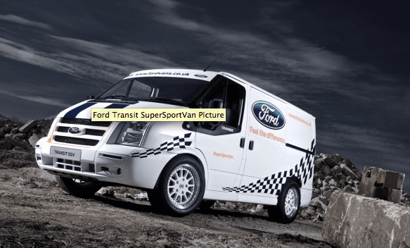 Ford Unveils Sporty Version Of Transit Connect Van  Racing