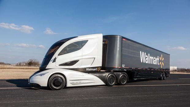 Cool Truck: Walmart's Futuristic, Fuel-Efficient Big Rig